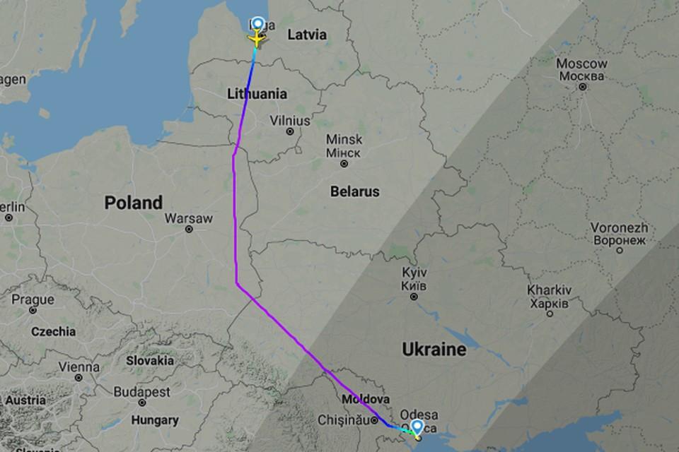 Самолеты AirBaltic теперь облетают Беларусь?