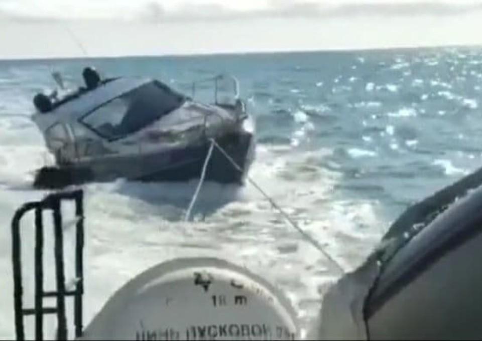 Скриншот с видео t.me/rian_ru.
