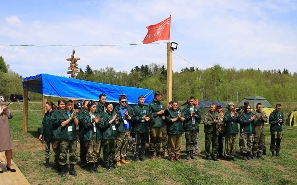 Участники второй межрегиональной поисковой экспедиции «Дальневосточный фронт»