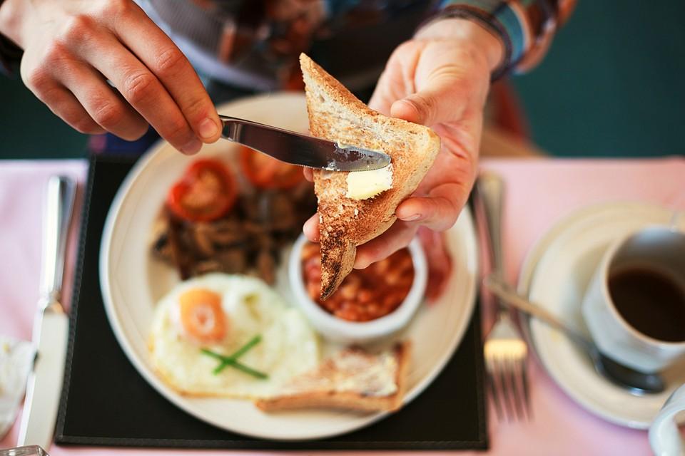 Главный компонент завтрака – белок