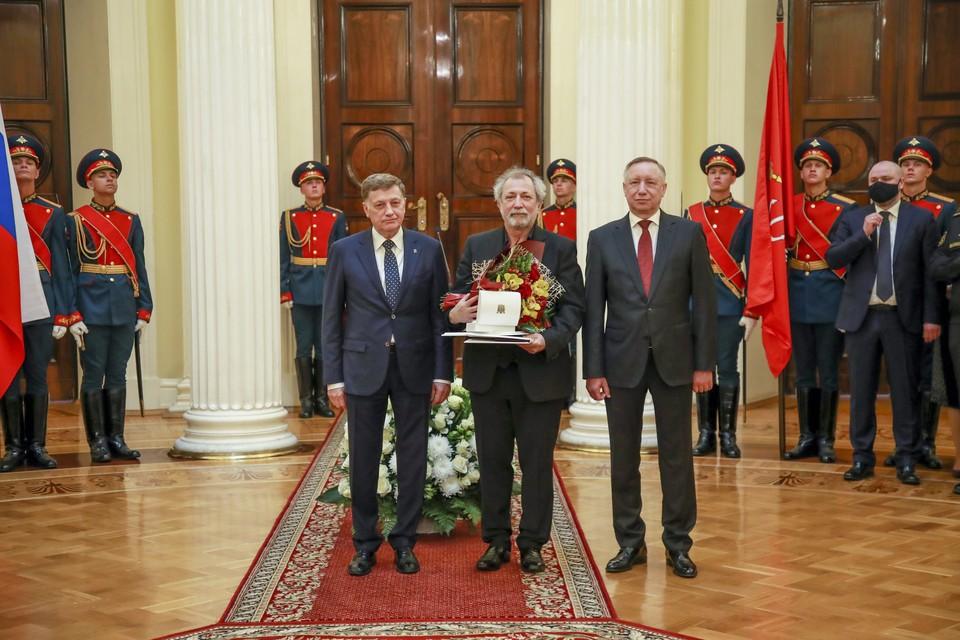 В Мариинском дворце чествовали Почётных граждан Санкт‑Петербурга / Фото: Смольный