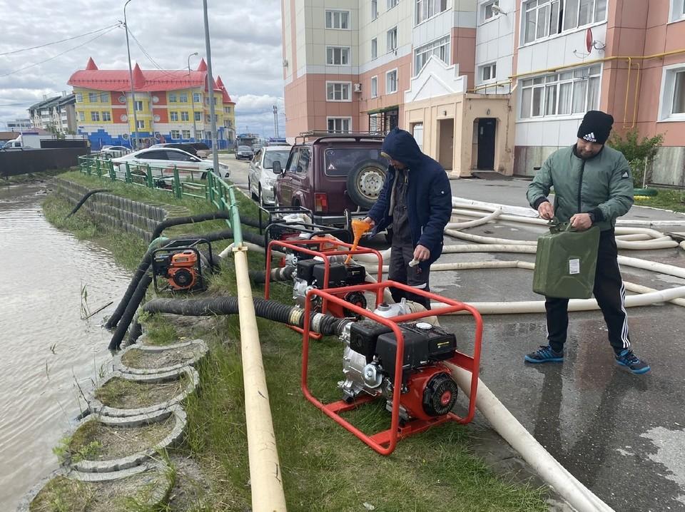 В Ханты-Мансийске за один день выпала месячная норма осадков Фото: МБУ Городской информационный центр