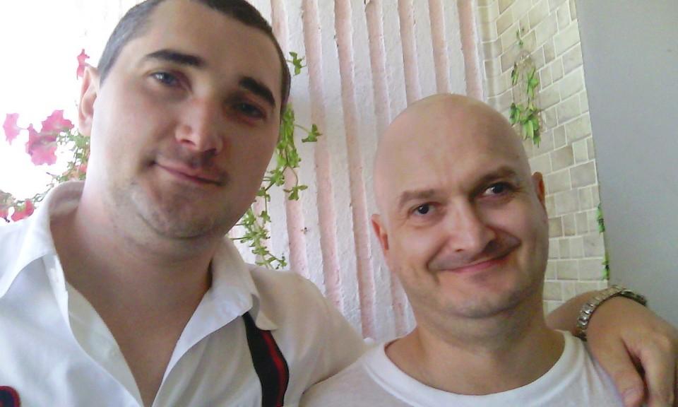 Я и мой друг Валера Чередниченко