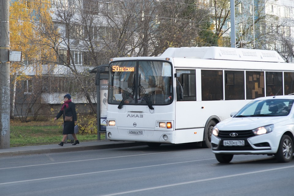 В Самаре поменяют маршруты автобусов
