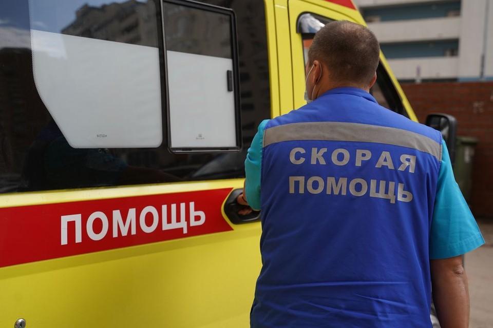 Мужчину с травмами госпитализировали в больницу.