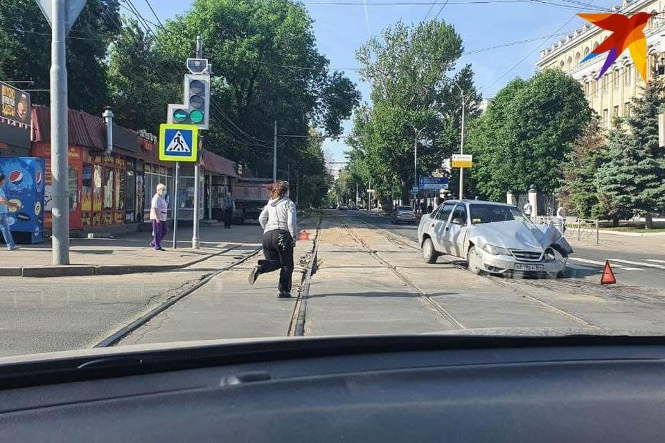 На Московской/Астраханской случилась авария
