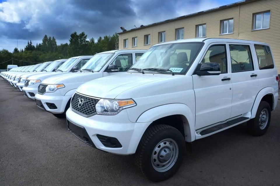 В Кузбасские больницы поступили автомобили высокой проходимости. Фото: АПК.