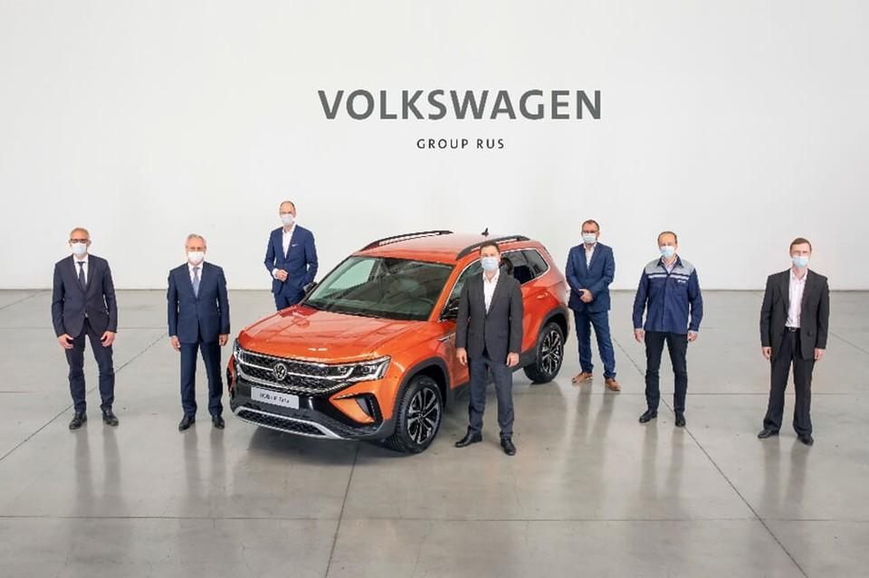 Завод ГАЗ начал производить кроссовер Volkswagen Taos в Нижнем Новгороде. ФОТО: Volkswagen Group Rus