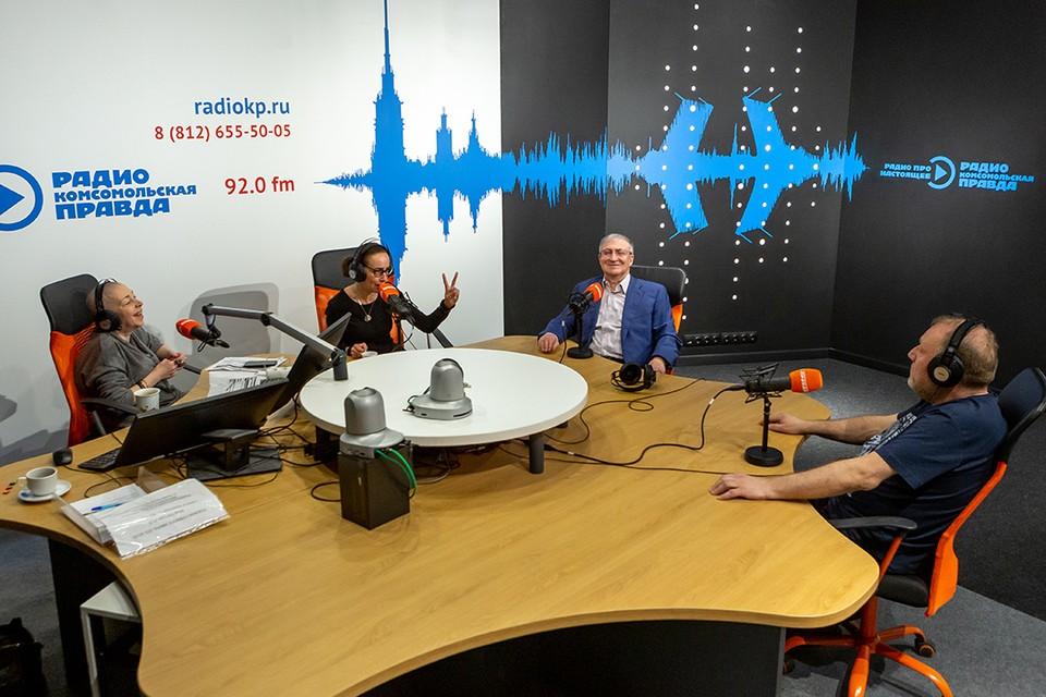 На Радио «Комсомольская правда» 92.0 FM прошел марафон «318 эмоций Петербурга».