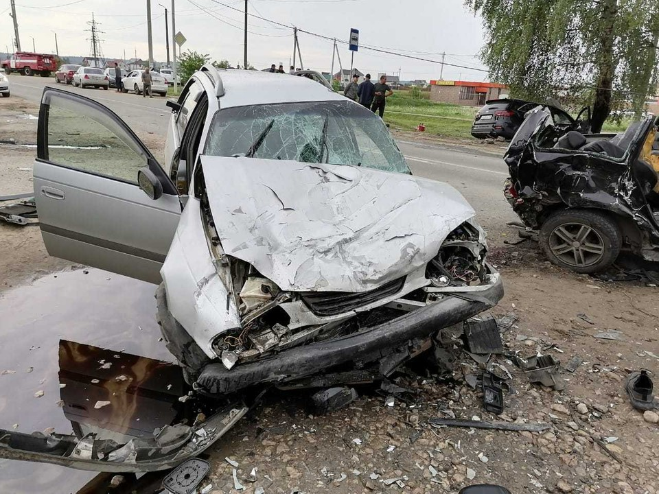 ДТП произошло на автодороге «Жуков - микрорайон Протва»