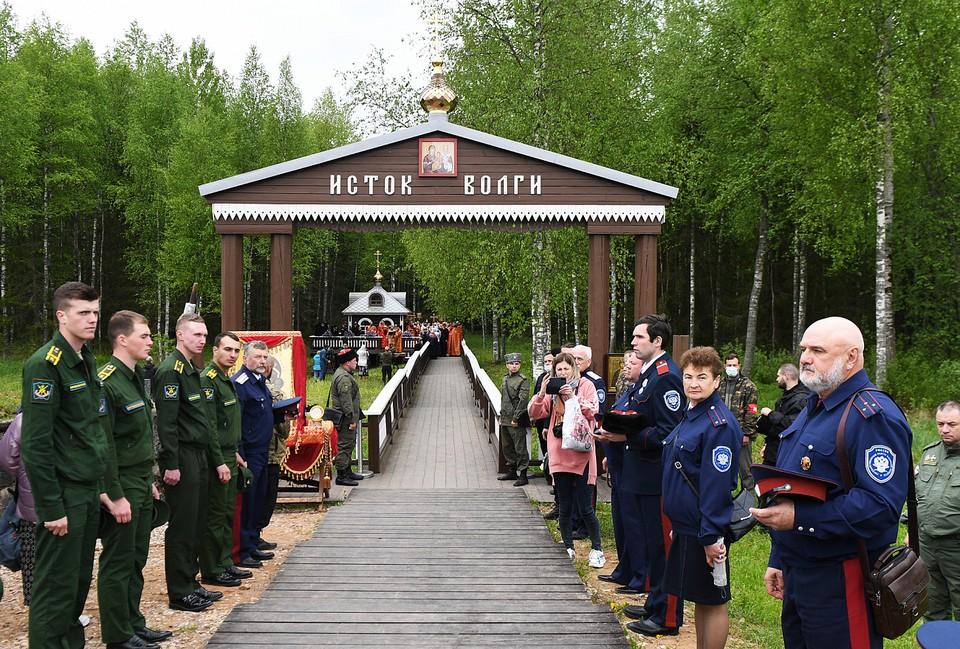 В Тверской области начался XXII Волжский Крестный ход Фото: ПТО