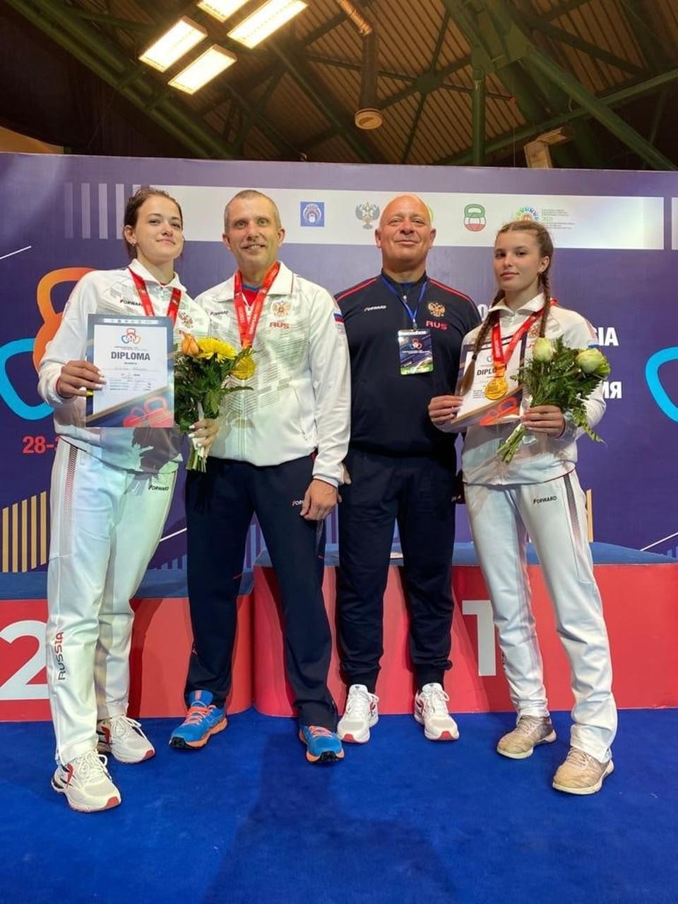13 наград завоевали калужане в Казани.