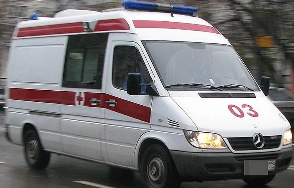 Обе травмированные девочки госпитализированы в больницу.