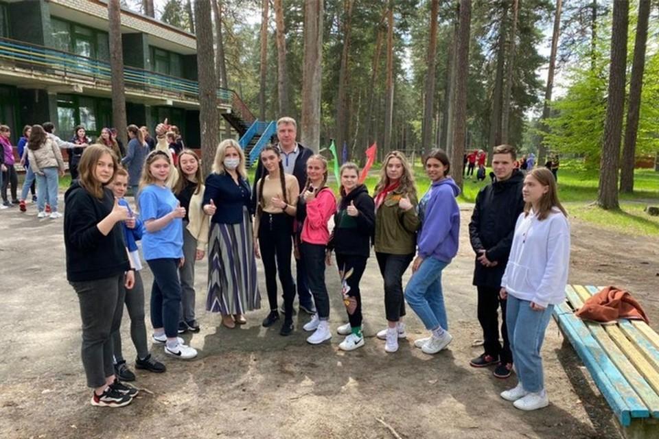 Брянские студенты прошли «Областную школу вожатых».