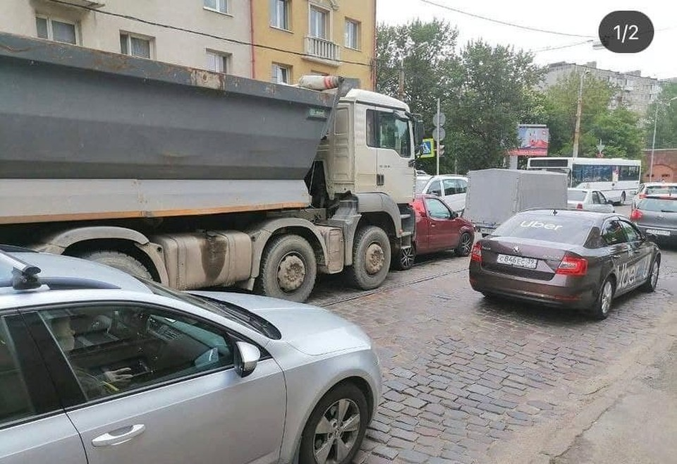 ДТП на улице Суворова