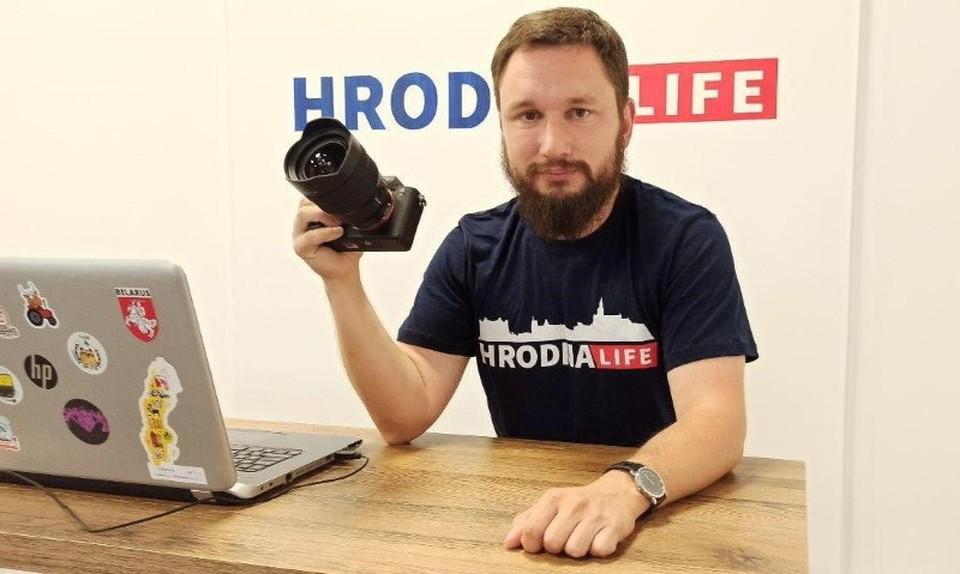 Очередное задержание журналиста: задержан главного редактора портала Hrodna.life Алексей Шота.