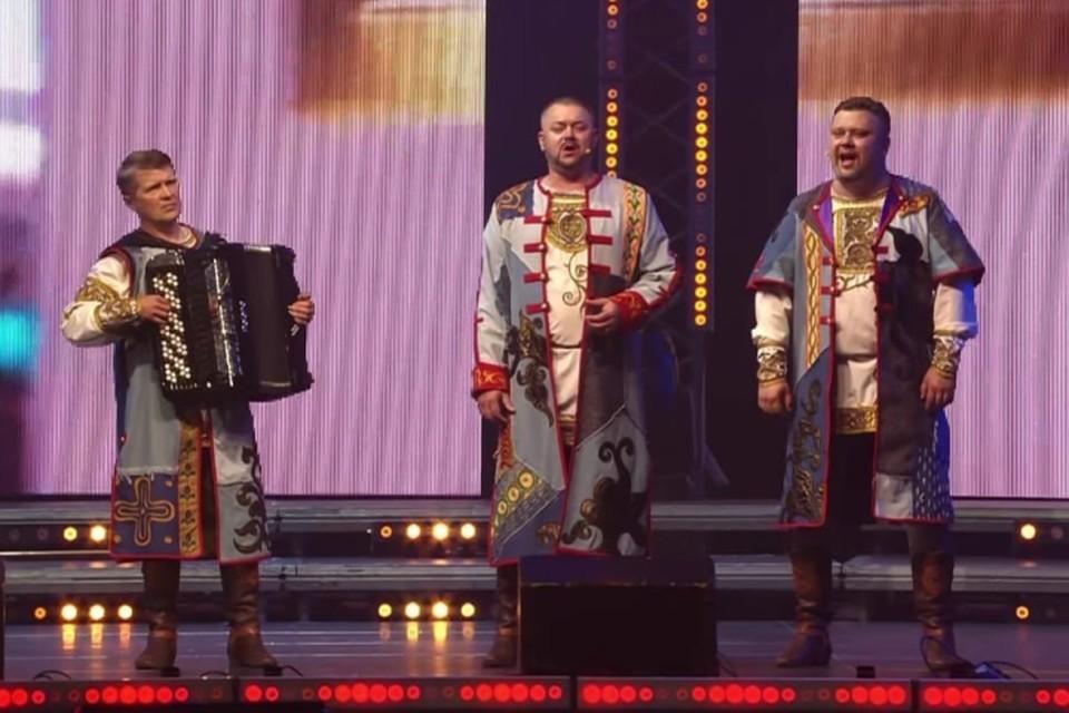 Брянский ансамбль «Ватага» спел на гала-концерте «Добровидение-2021». Фото: Брянская областная филармония.