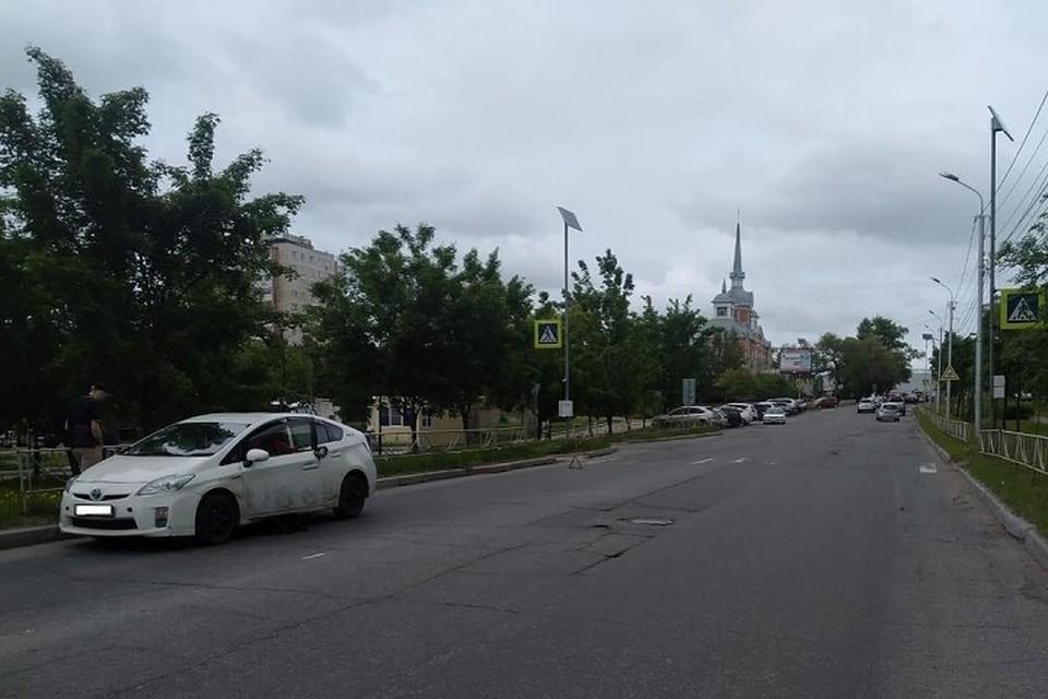Двое детей пострадали в ДТП на выходных в Хабаровске. Фото: Госавтоинспекция Хабаровска.