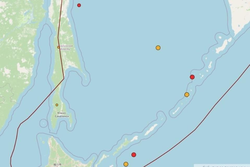 Сейсмическую активность наблюдают ученые у берегов Сахалина и Курил
