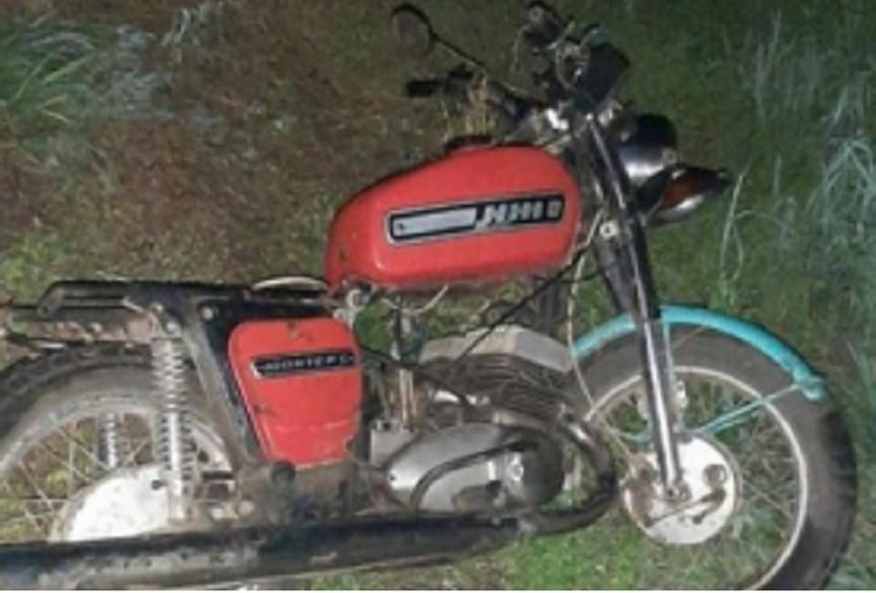 Мотоциклист умер на месте аварии.