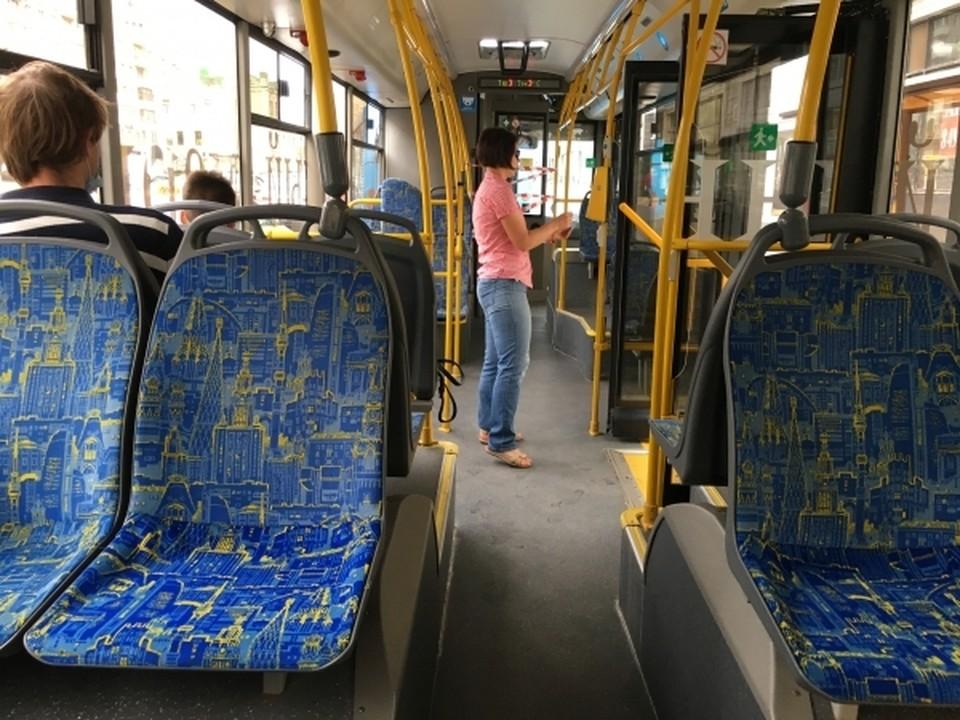 С 5 июня троллейбусы перестанут ходить до «Шарма» в Смоленске.