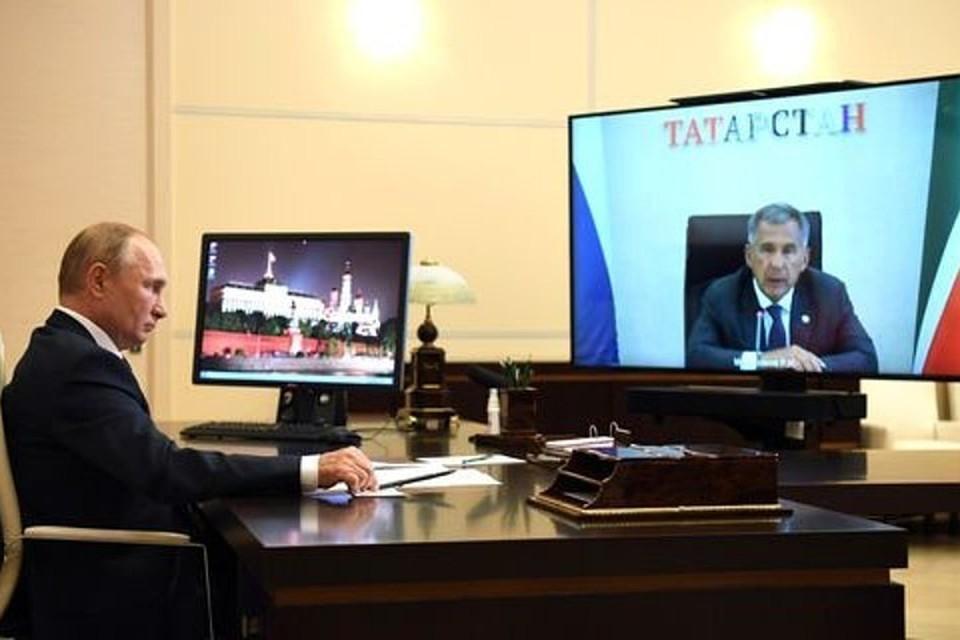 Президент России примет участие в церемонии в режиме видеоконференции. Фото: kremlin.ru