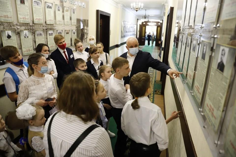 Губернатор Кузбасса поделился свой заветной мечтой. Фото: АПК.