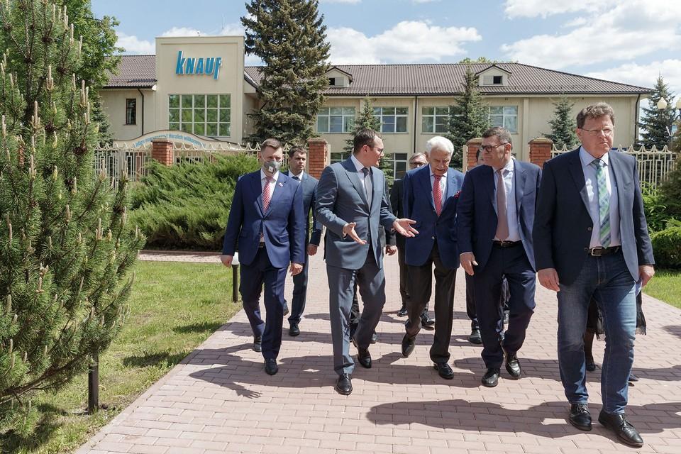 26 мая состоялась встреча делегации компании КНАУФ с представителями экономического блока правительства Тульского региона.