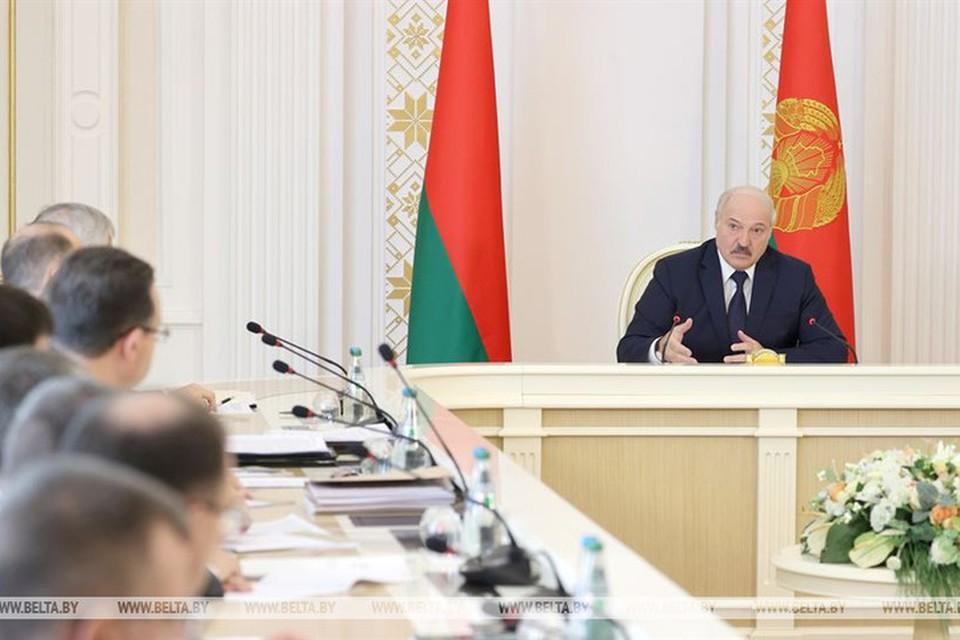 Александр Лукашенко раскрыл подробности переговоров с Владимиром Путиным. Фото: БелТА