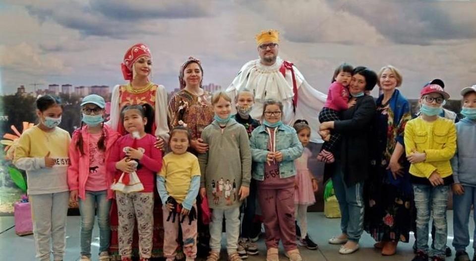 """В Тюмени для детей с ограниченными возможностями здоровья провели концерт. Фото предоставлено """"КП""""."""
