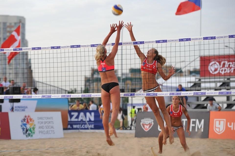 Завершился первый открытый этап Кубка всероссийского физкультурно-спортивного общества «Динамо» по пляжному волейболу