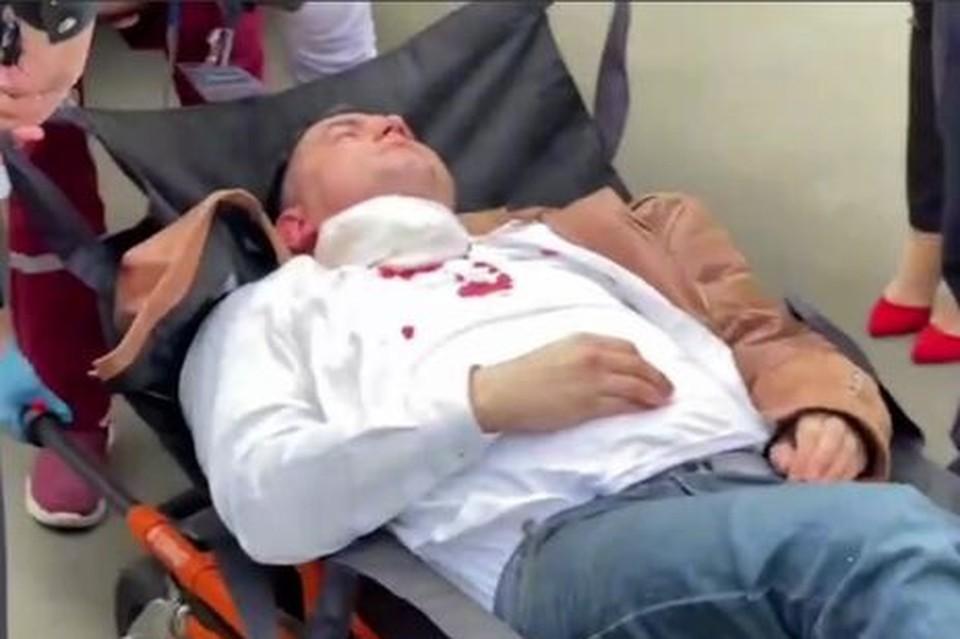 Минздрав сообщил о состоянии Степана Латыпова. Фото: скриншот видео БелаПАН