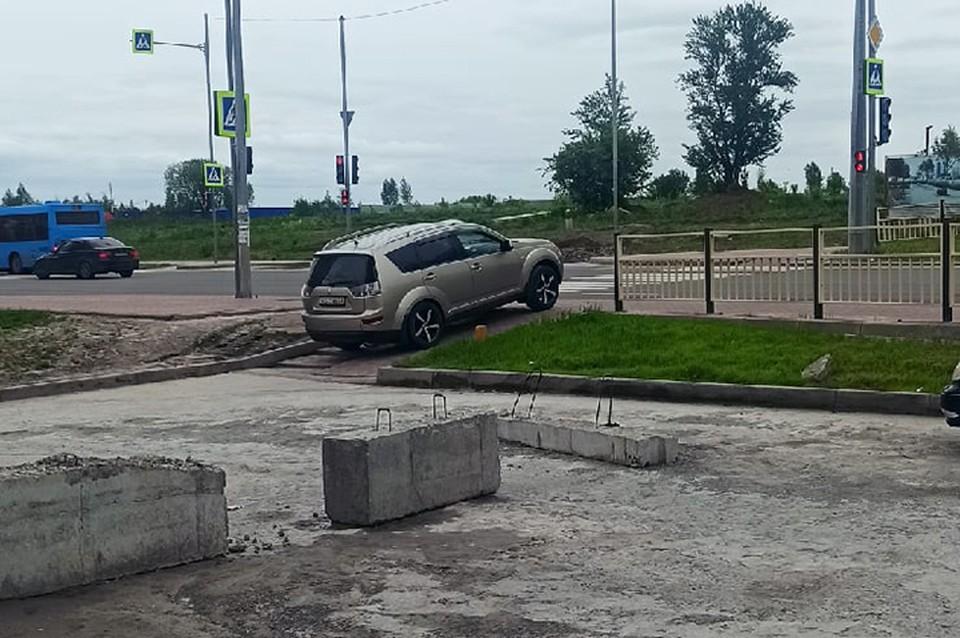 """Фото: """"Нарушение ПДД Брянск""""."""