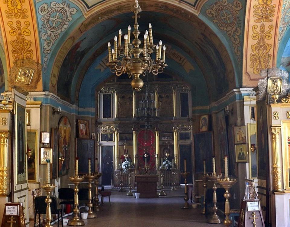 Иконостас Свято-Никольского храма села Панино в Тульской области засияет новыми красками