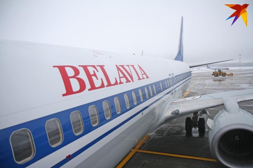"""Самолет """"Белавиа"""" сел в Краснодаре из-за технических проблем в топливной системе."""