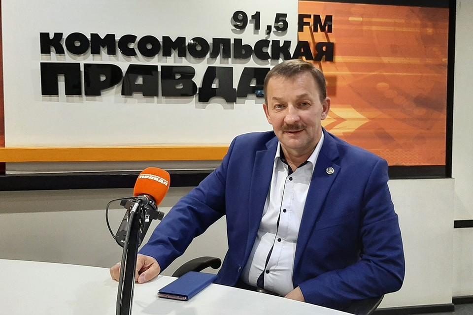 Поздравляем с Днем рождения мэра Киренского района Кирилла Свистелина