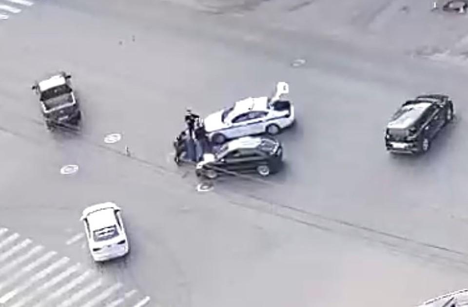 Мотоциклист получил травмы. Стоп-кадр Baza.net