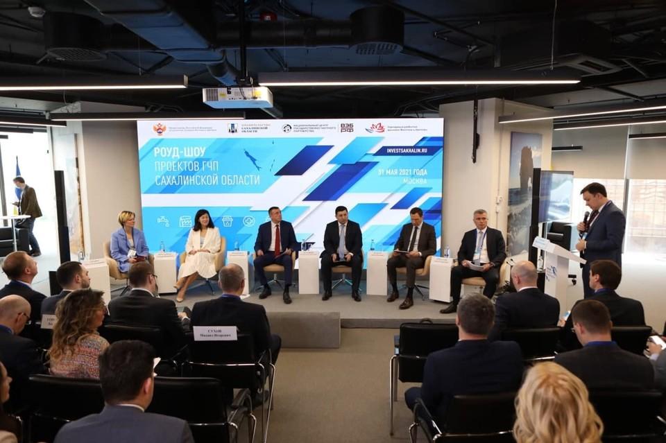Проект строительства нового хирургического комплекса был представлен на презентации проектов ГЧП Сахалинской области в Москве