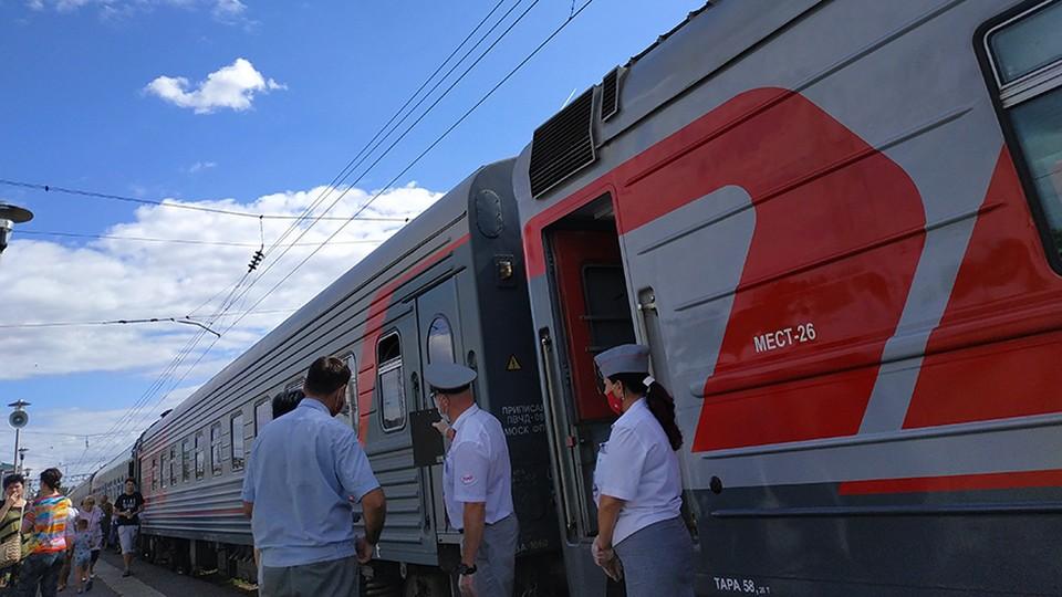Перевозки пассажиров на МЖД в мае выросли более чем в 3,2 раза. Фото: пресс-служба МЖД.
