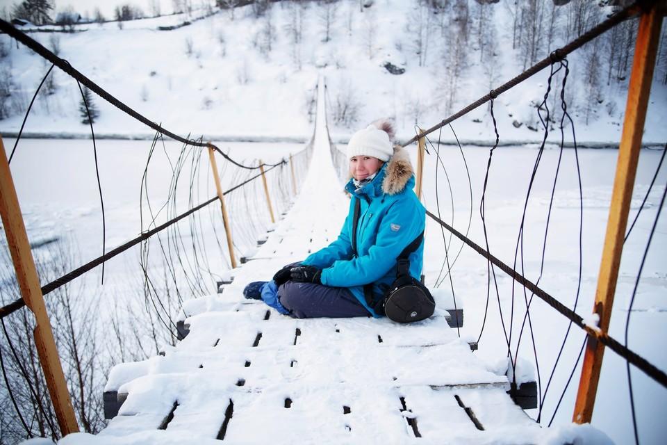 """Дома Анастасию ждет маленький сын. Фото: личная страница туристки во """"ВКонтакте"""""""