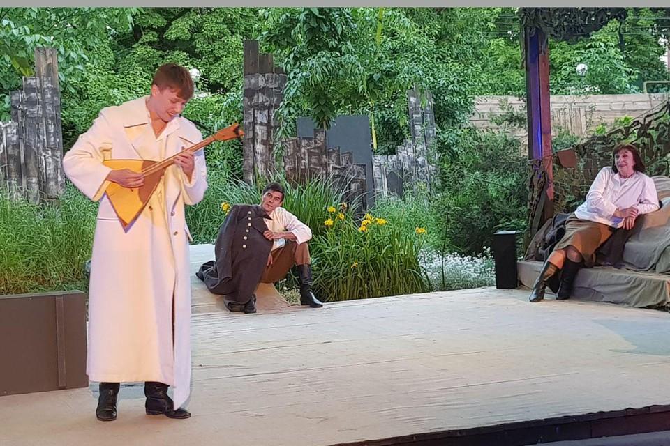 Постановка «Тропами Василия Тёркина» на сцене Драмтеатра