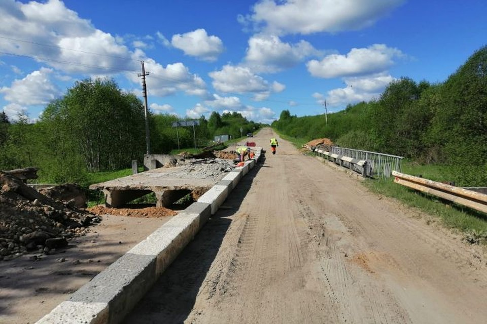 В Ярославской области начали ремонт пяти мостов