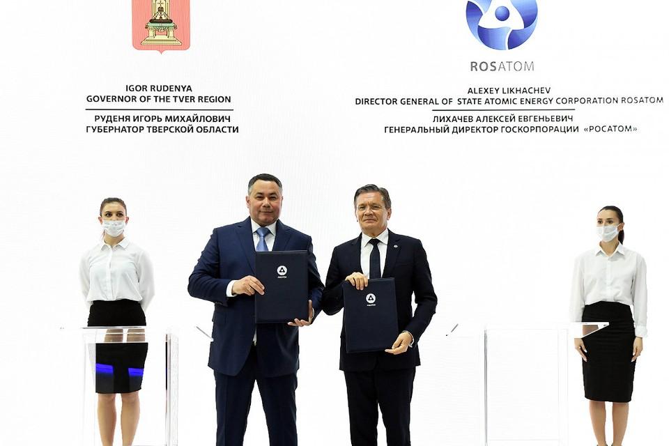 Игорь Руденя и Алексей Лихачев. Фото: ПТО