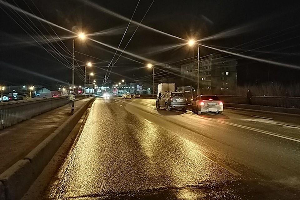 В Твери до конца сентября 2021 года планируют отремонтировать Южный мост. Фото: пресс-служба ГИБДД по Тверской области.