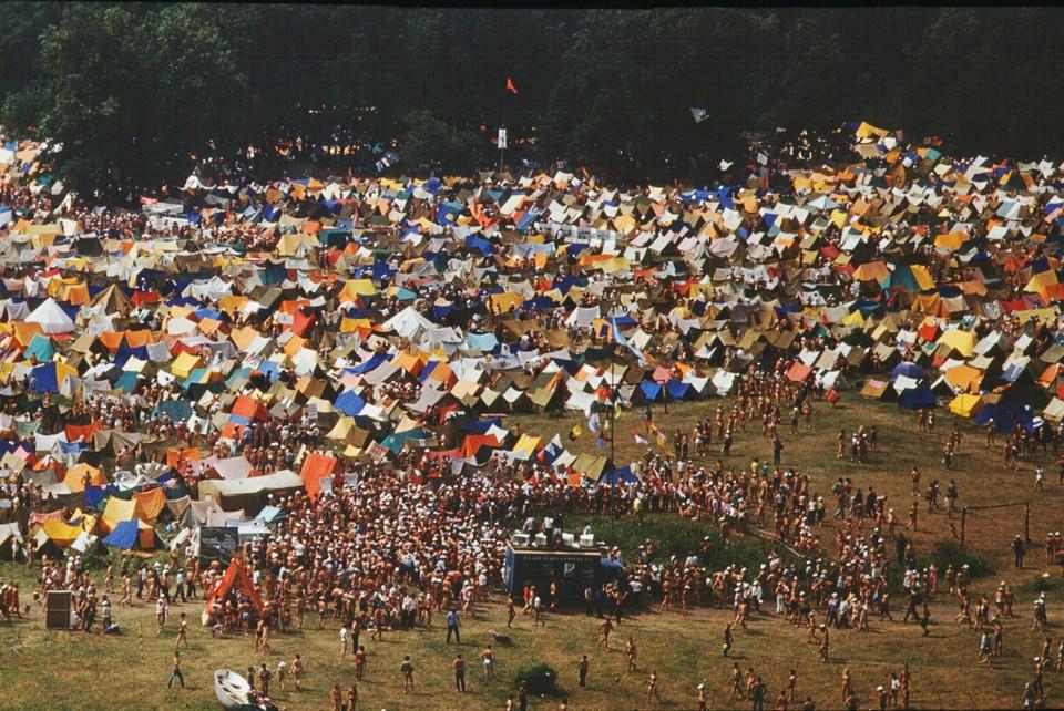 Гостей ждут на Грушинском фестивале