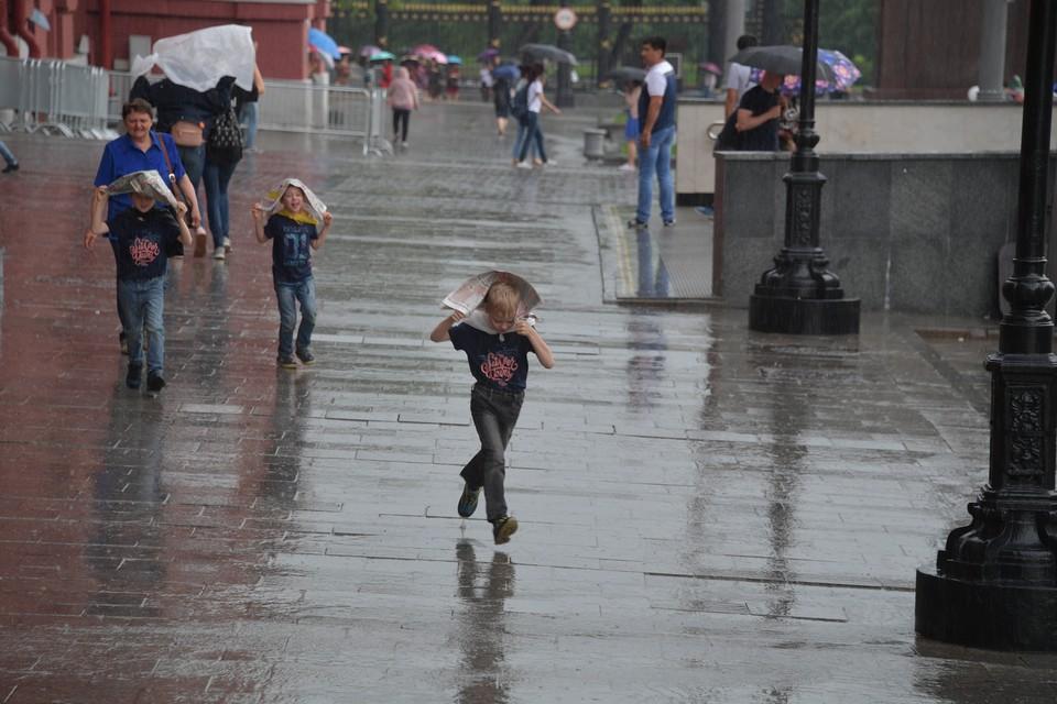 Непогоду в донской столице прогнозируют и на ближайшие выходные