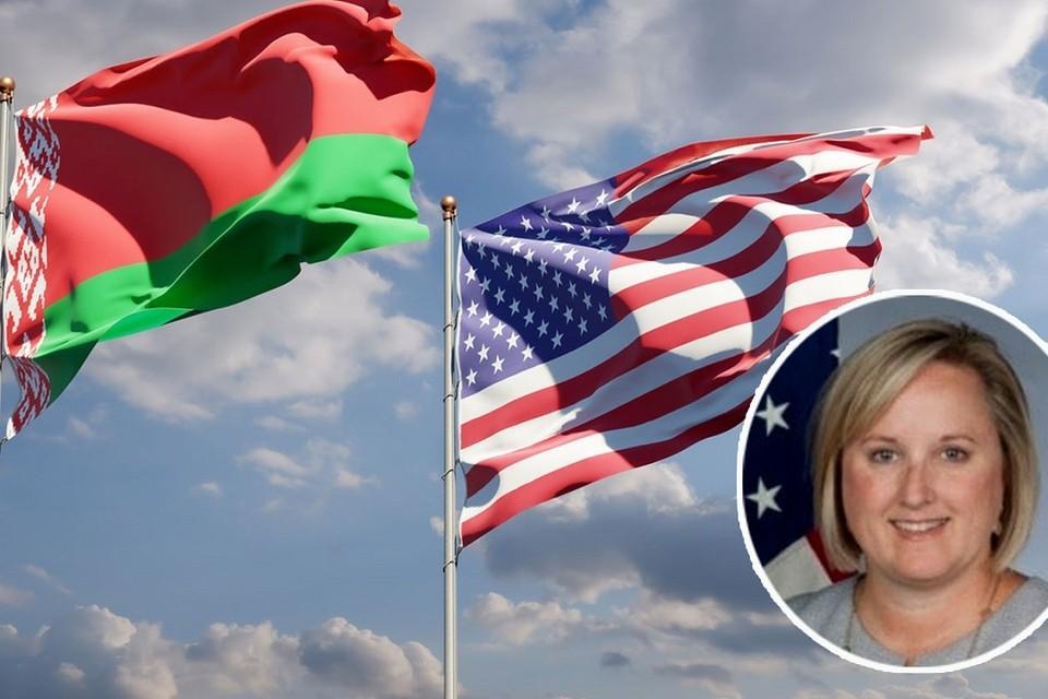 В МИД Беларуси заявили о том, что статус посла США пока не официальный. Фотоколлаж: gazeta.ru