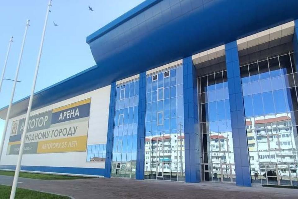 Грандиозное сооружение площадью более 42 тыс. кв. метров открылось в микрорайоне имени Космодемьянского в октябре прошлого года.