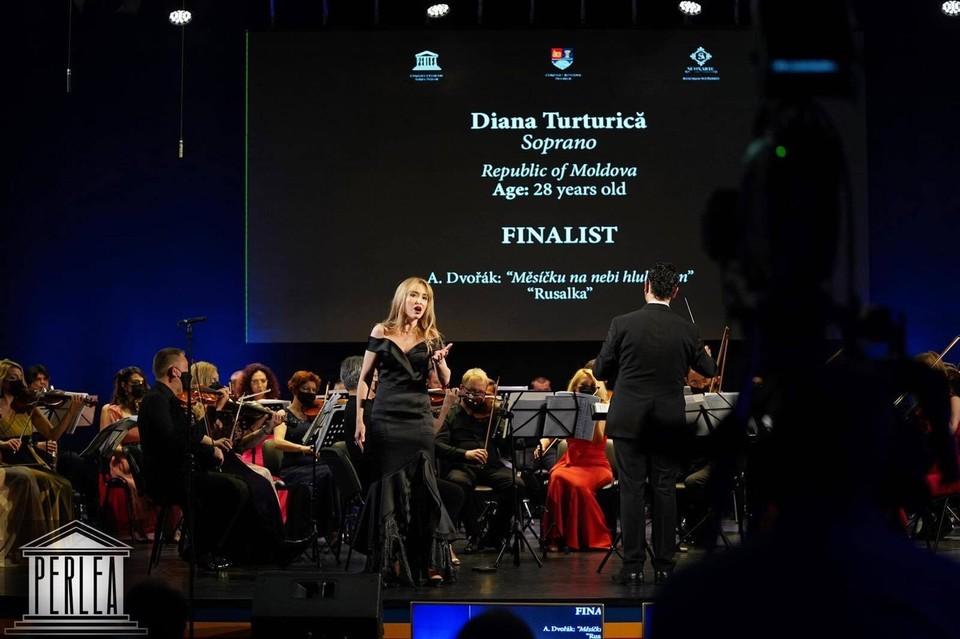 Диана туртурика получила возможность стажироваться и выступать на большой сцене.