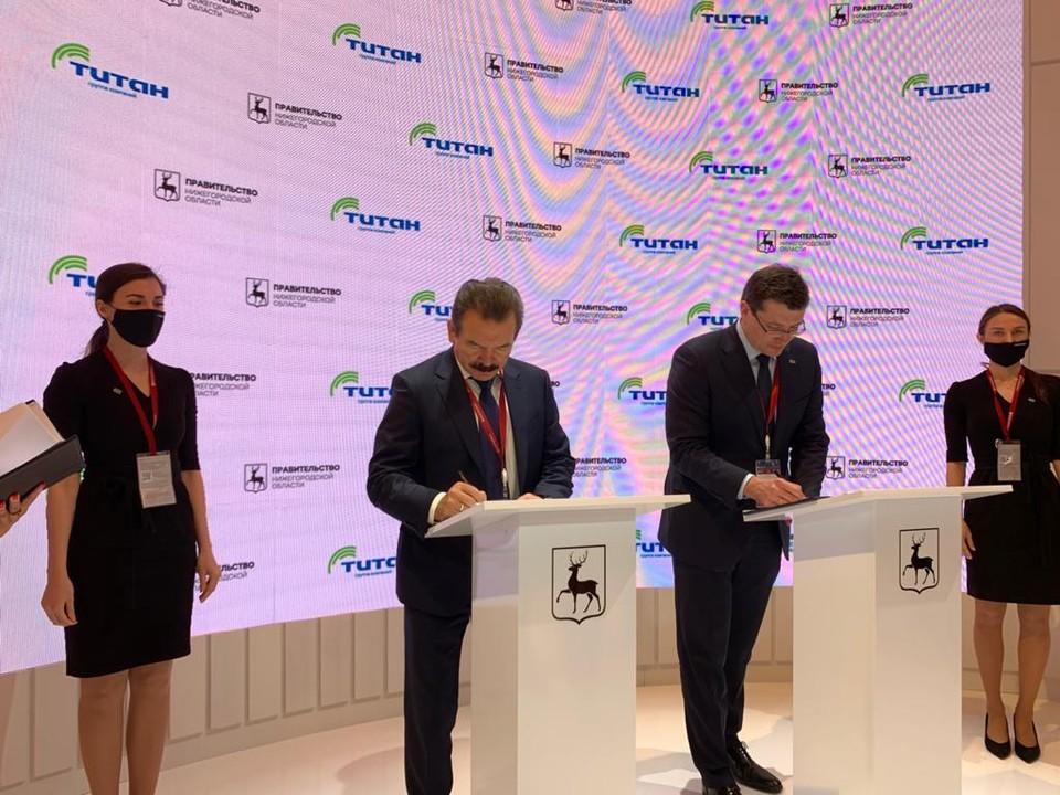 Группа компаний «Титан» построит в Нижегородской области импортозамещающее производство. Фото: пресс-служба губернатора и правительства Нижегородской области.